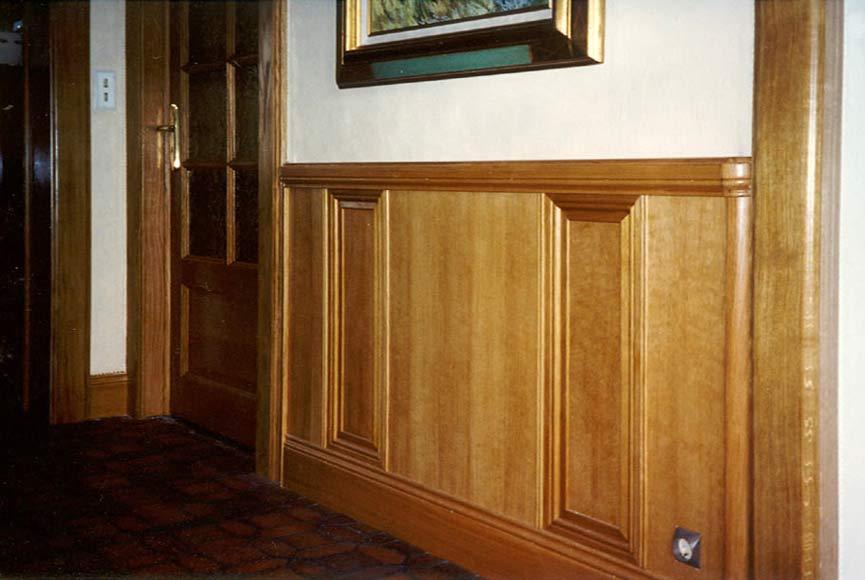 boiseries murales decoration boiseries murales maison style rustique panneaux muraux bois. Black Bedroom Furniture Sets. Home Design Ideas